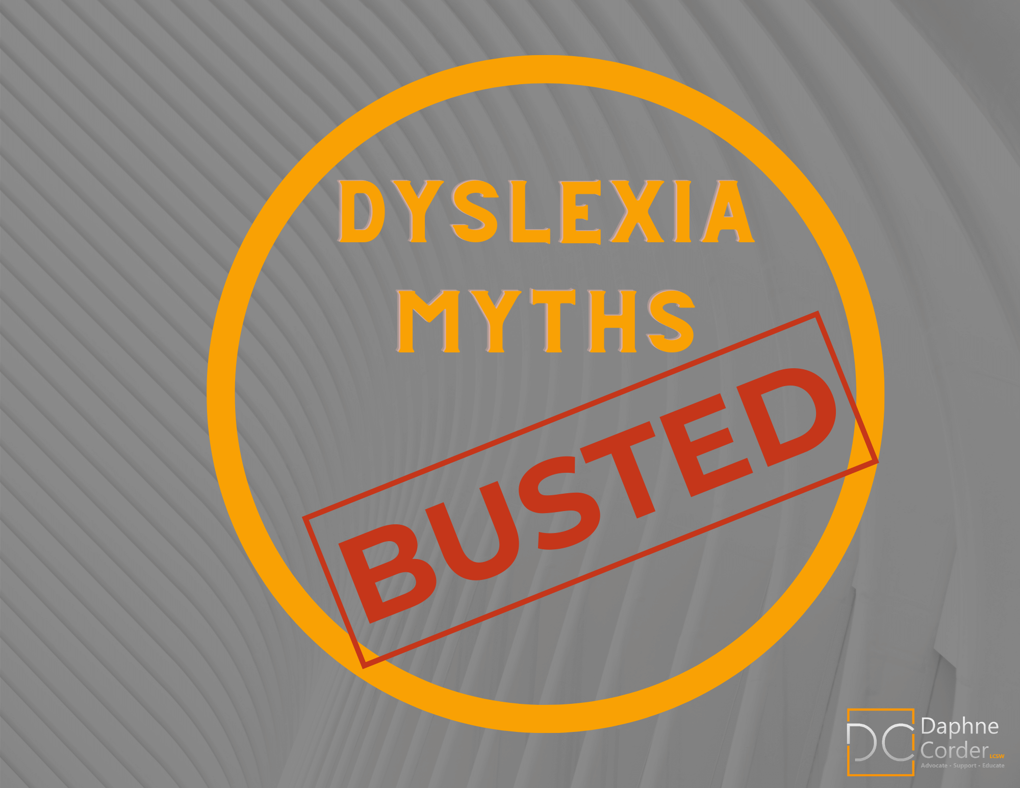 Cover to Dyslexia Myths Busted Free Ebook